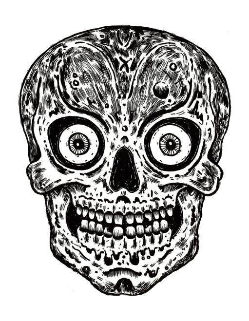 Skull Zine Machine X